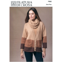 (F992 Palio Cardigan and Cowl)
