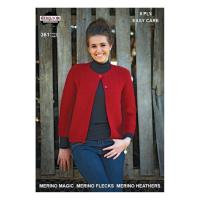 361 Garter Stitch Chanel Jacket