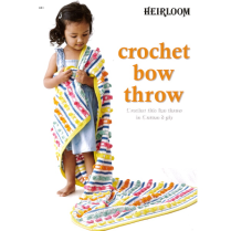 (HL601 Crochet Bow Throw)