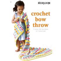 (HL601 Crochet Bow Throw)
