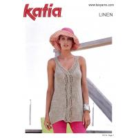 113 Cable & Lace Singlet