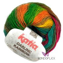(Darling Rainbow 4 Ply)