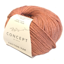 (Cotton Yak 8 Ply)