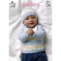 3011 Cardigan, Sweaters, Hat and Mittens