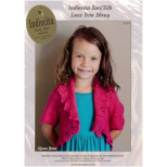 2104 Girls Lace Trim Shrug