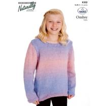 (KX 332 Shaped Edge Sweater)