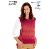 N1375 Side Buttoned  Vest