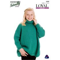 (K320 Poncho Sweater)