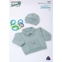K361 Sweater with Owl Pocket