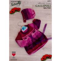 K379 Dress and Bonnett