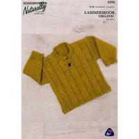 K396 Four Cable Sweater