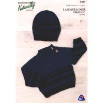 (K399 Raglan Sweater & Hat)