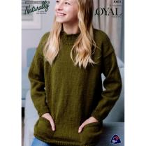 (K401 Sweater with Pockets)