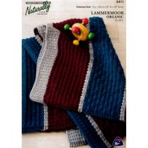 (K411 Textured Baby Blanket)