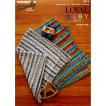 (K413 Baby Blanket 4ply or 8ply)
