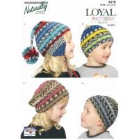 K678 Loyal Pattern Prints Hats