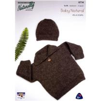 (K714 Sweater & Hat)