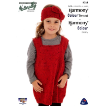 (K764 Pinafore and Headband)