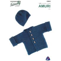(K803 Garter Stitch Jacket and Hat)