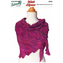 (M009 Misti Hand Paint Lace Shawl)