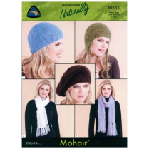 (N1153 Mohair Hats and Scarves)