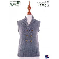 N1186 Double Breasted Vest