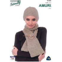 (N1255 Hat and Scarf)