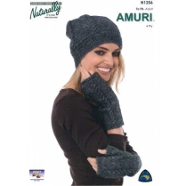 (N1256 Hat and Wristwarmers)