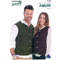 N1258 Vest with Pockets 8 Ply