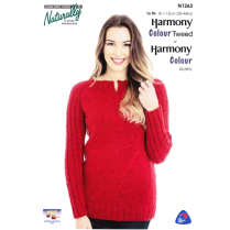 (NX 1263 Easy Raglan Sweater 8 Ply)