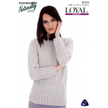 N1312 Textured Sweater