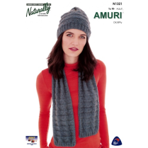 (N1321 Hat and Scarf)