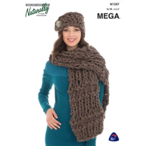 (N1347 Scarf and Hat)