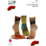 N1365 Socks 3 options for cuffs