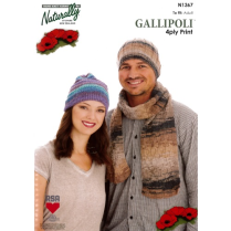 (N1367 Hats and Scarf)