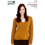 N1389 Cable Sweater