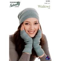 N1392 Hat and Fingerless Gloves