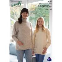 N1467 Sweater with Pockets