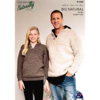 N1468 Tab Front Sweater