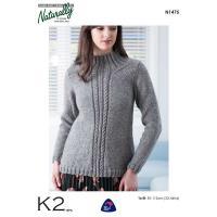 n1475 A Shaped Sweater