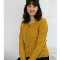 (N1529 Cabled Cardigan)