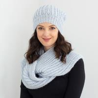 N1543 Scarf and Hat