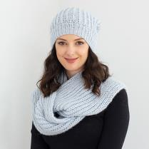 (N1543 Scarf and Hat)