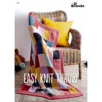 (PB604 Easy Knit Throw)