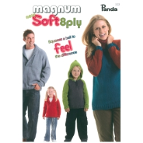 (222 Magnum Soft8 ply  Family Knits)