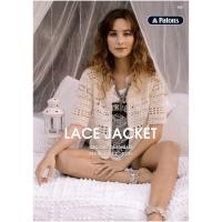 0021 Lace Crochet Jacket