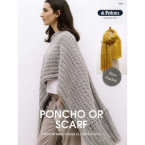 (9003 Poncho or Scarf)