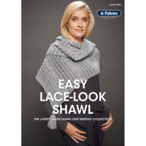 (9004 Easy Lace Look Shawl)