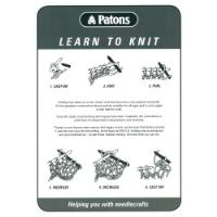 LTK Learn to Knit Leaflet