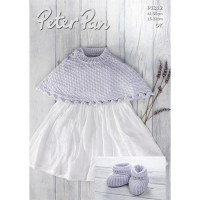P1312 Poncho and Bootees